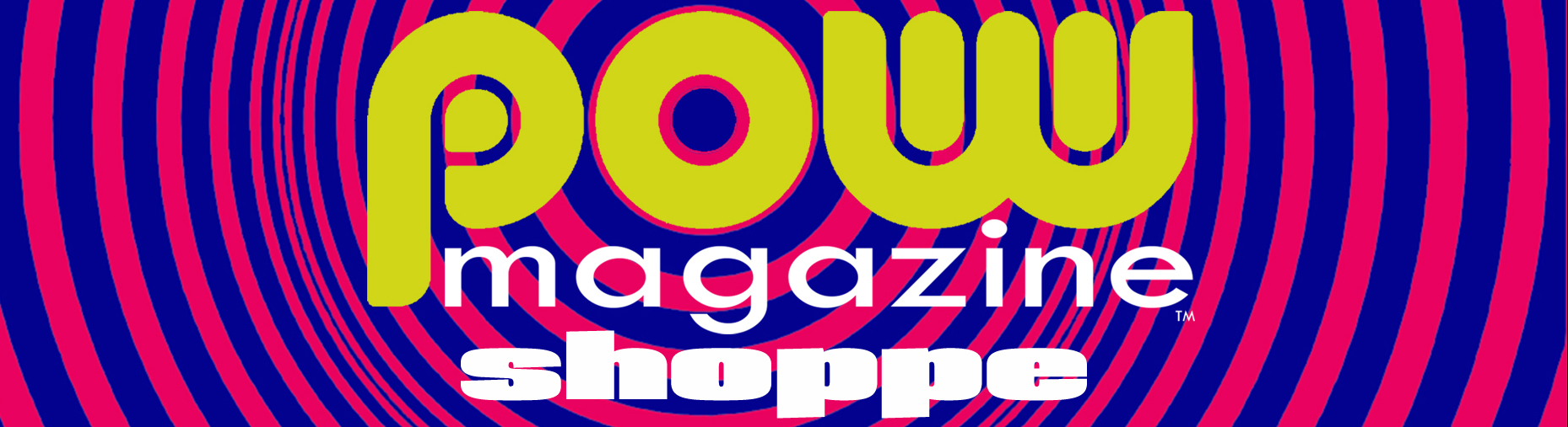 Pow Magazine Shoppe Logo